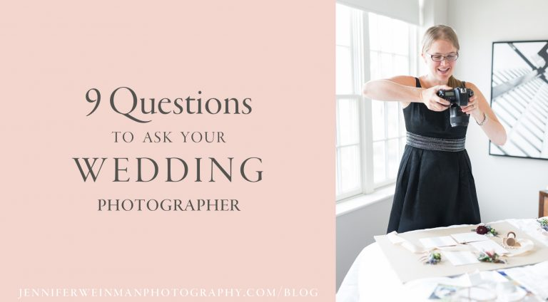 9 Questions to Ask Your Wedding Photographer