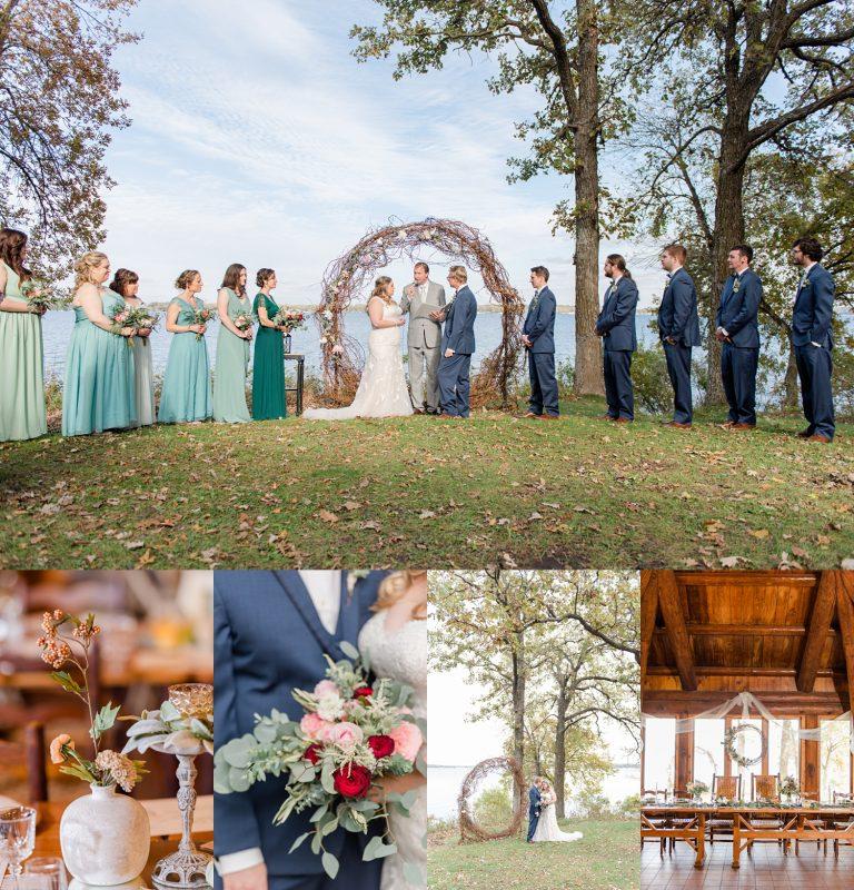 lake okoboji wedding