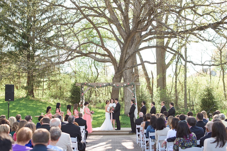 Rapid Creek Cidery wedding ceremony