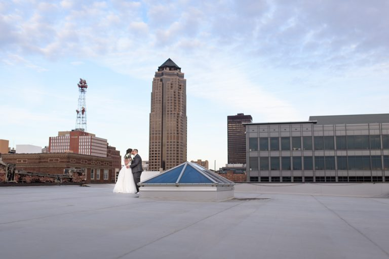 bash rooftop wedding reception