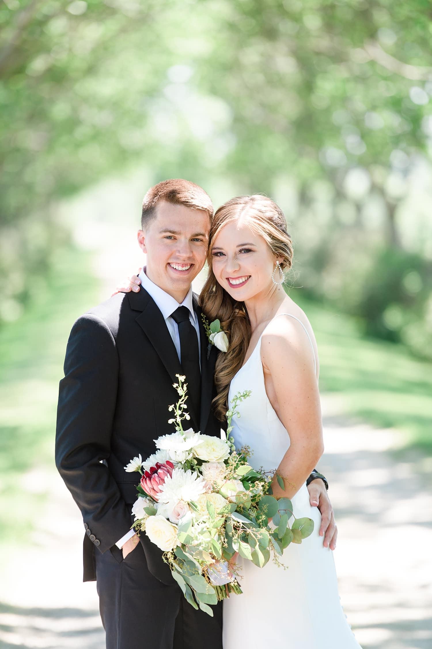sugar grove summer wedding