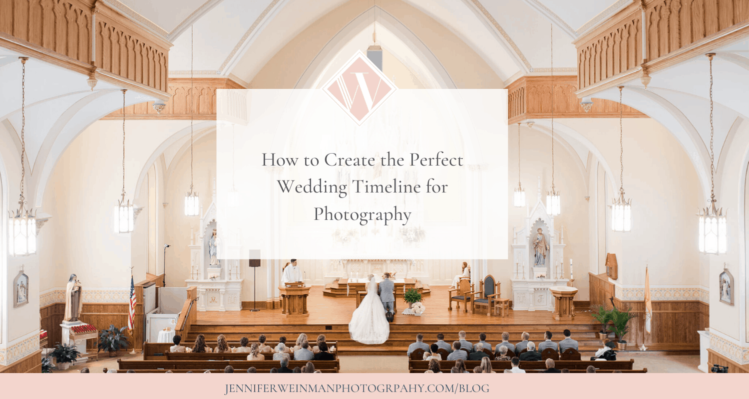 How to Create the Perfect Wedding Timeline for Photography