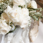 Hutton house bouquet and shoes