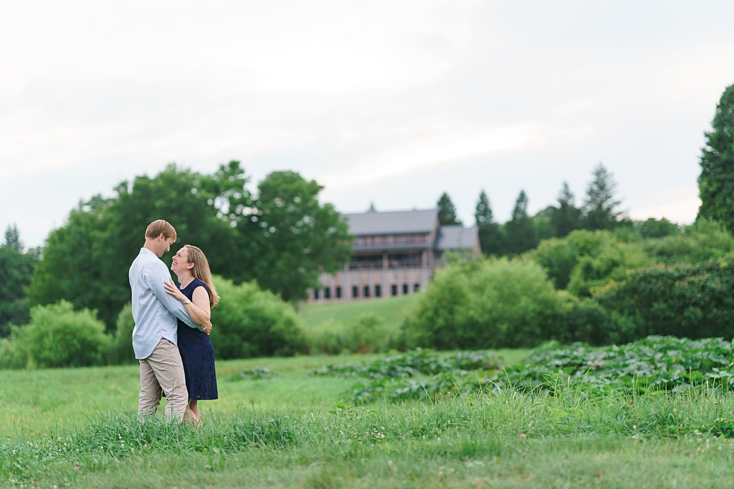 wilson's apple orchard and rapid creek cidery engagement photos