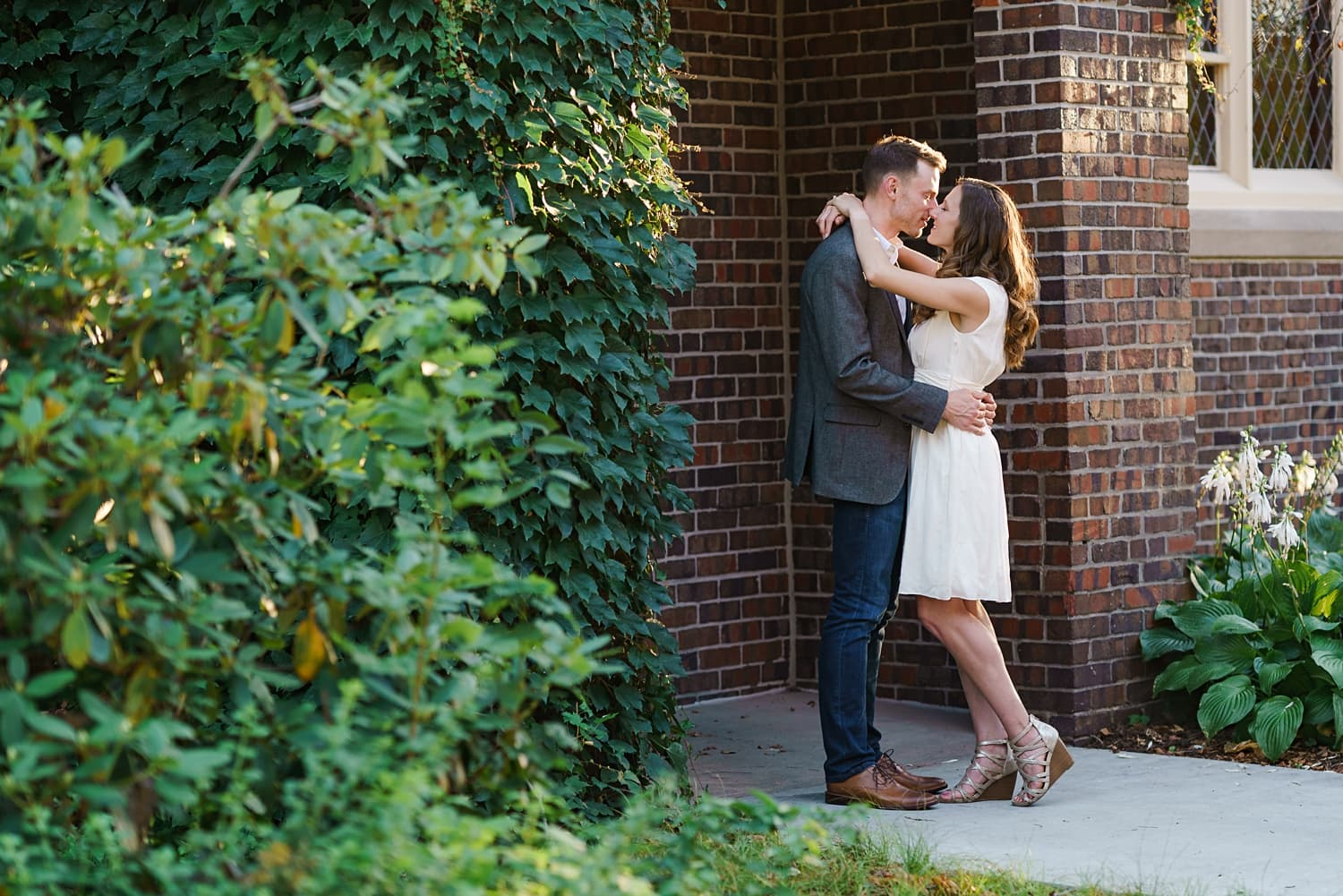 Grinnell College engagement session