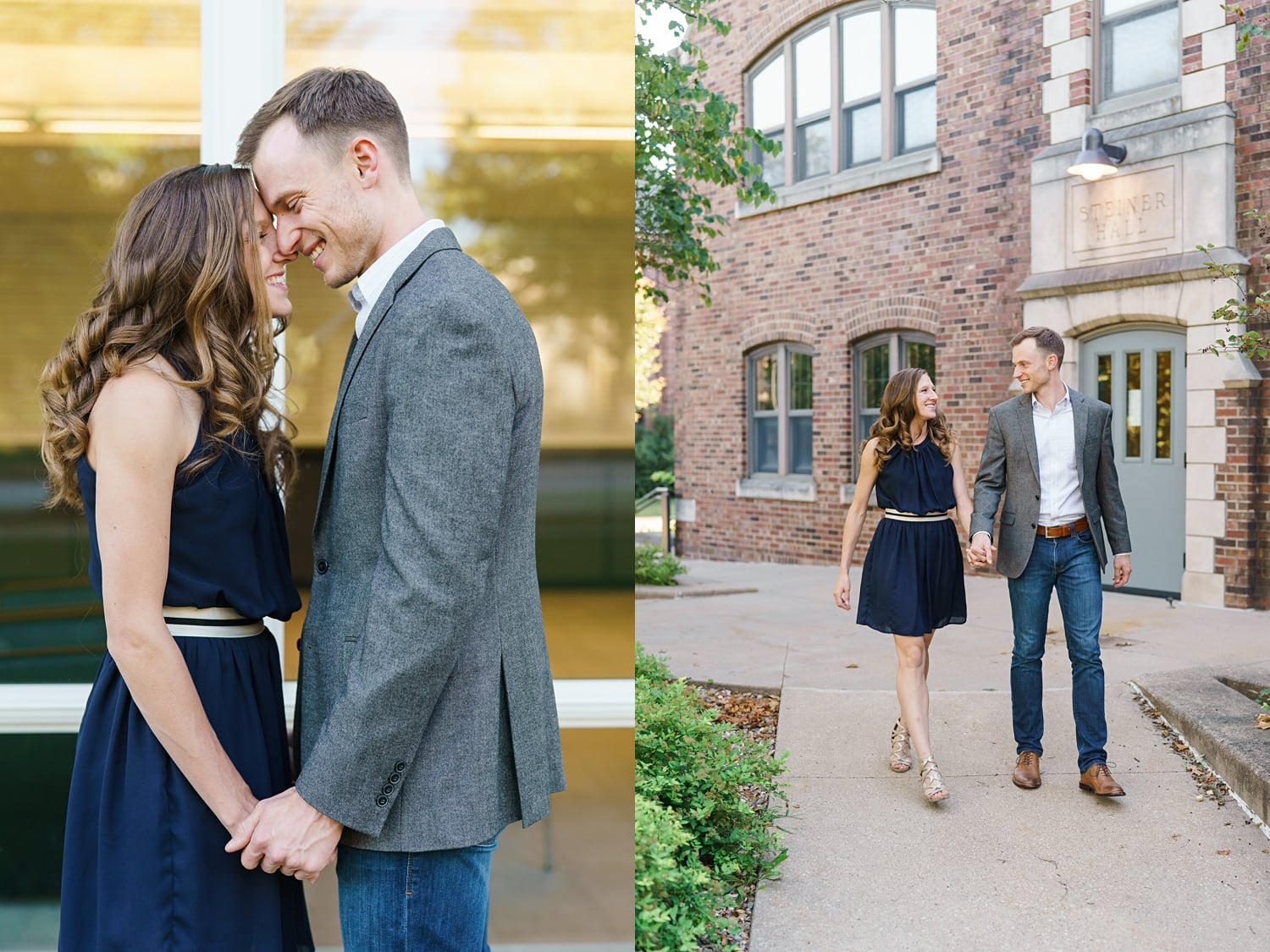 grinnell engagement photos