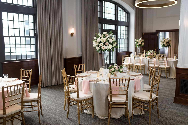 Des Moines tea room wedding