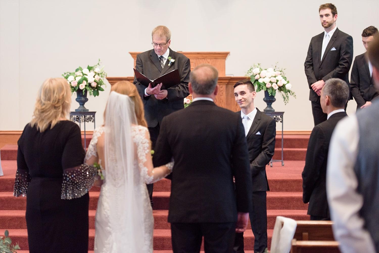 covenant reformed church pella wedding ceremony