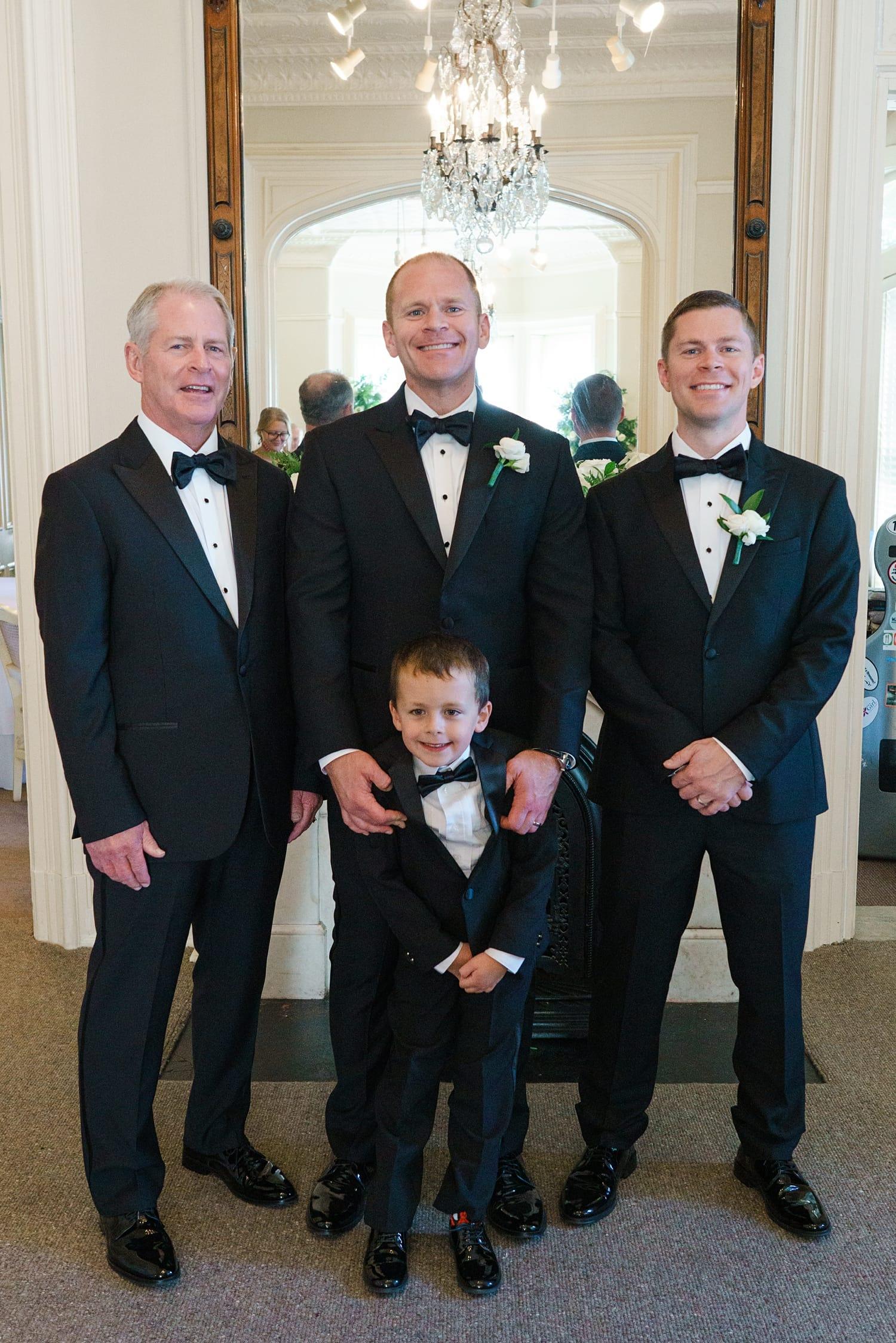 small groom group