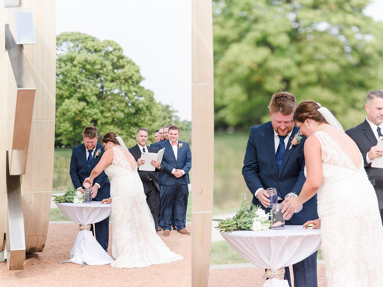 wedding ceremony unity sand