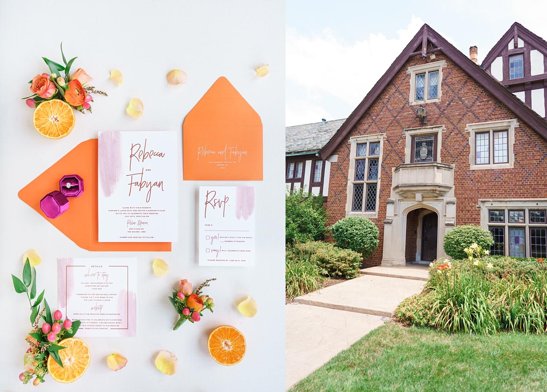 rollins mansion summer wedding