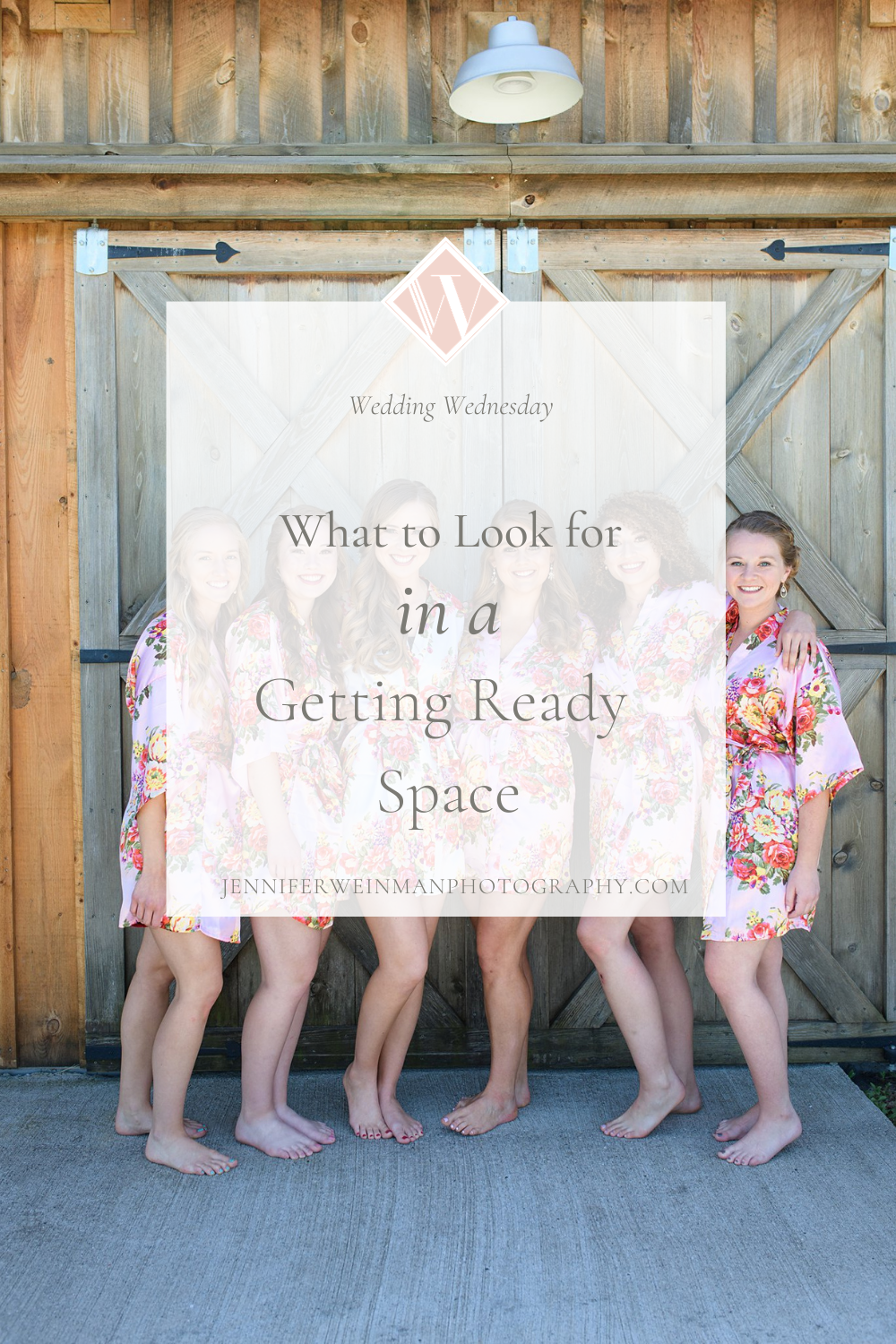 what to look for in a getting ready space