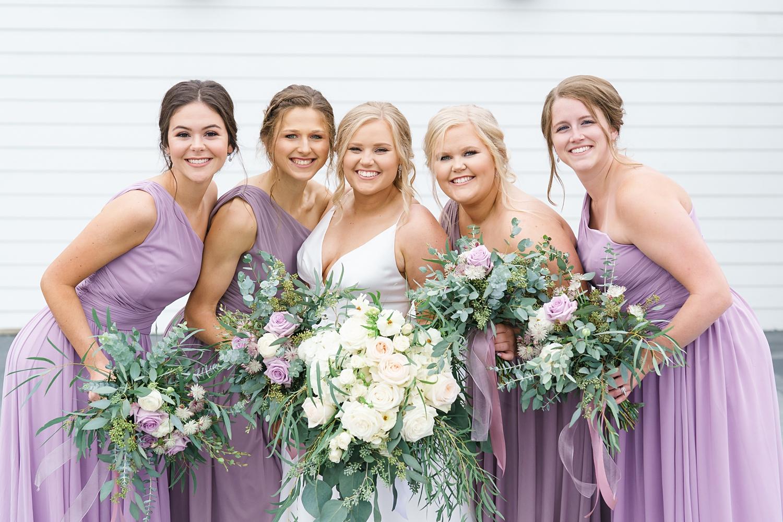lavendar bridesmaids dresses