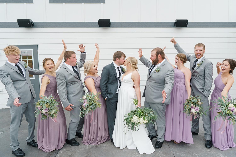 alta house wedding party iowa