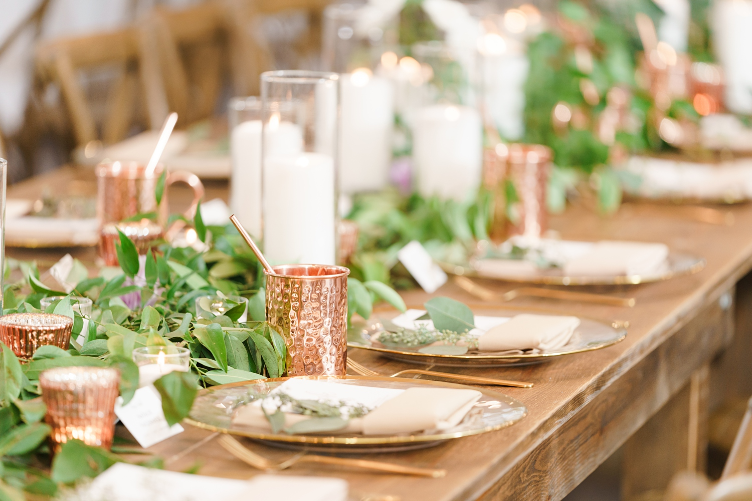 wedding moscow mules