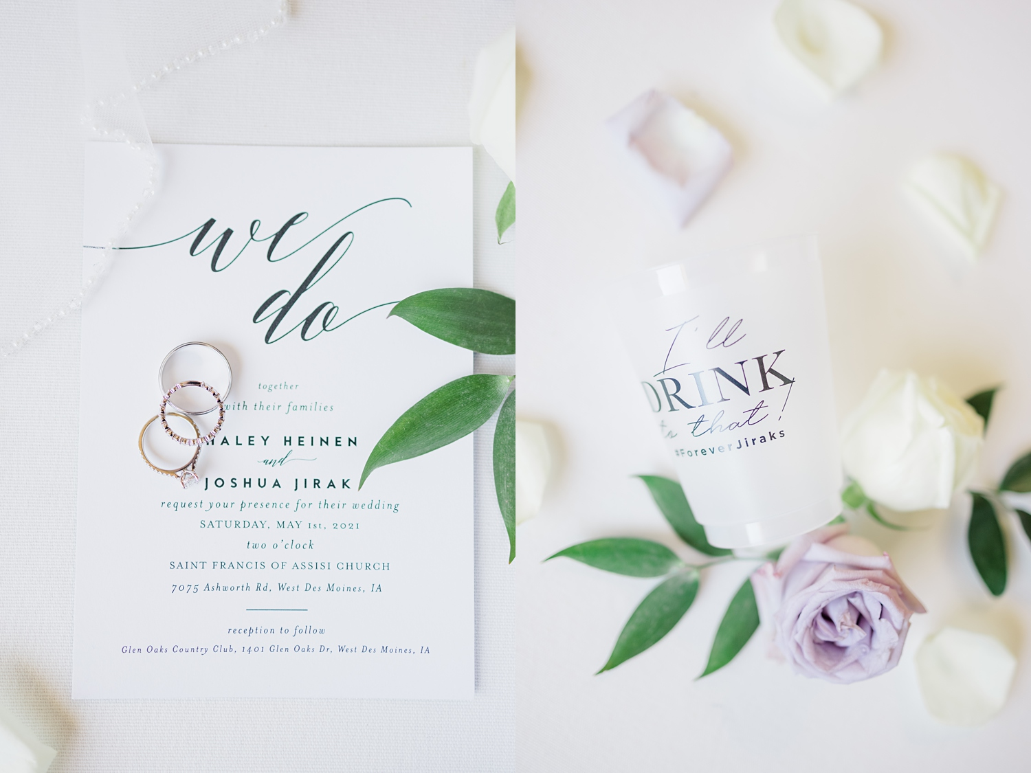 personalized wedding cups