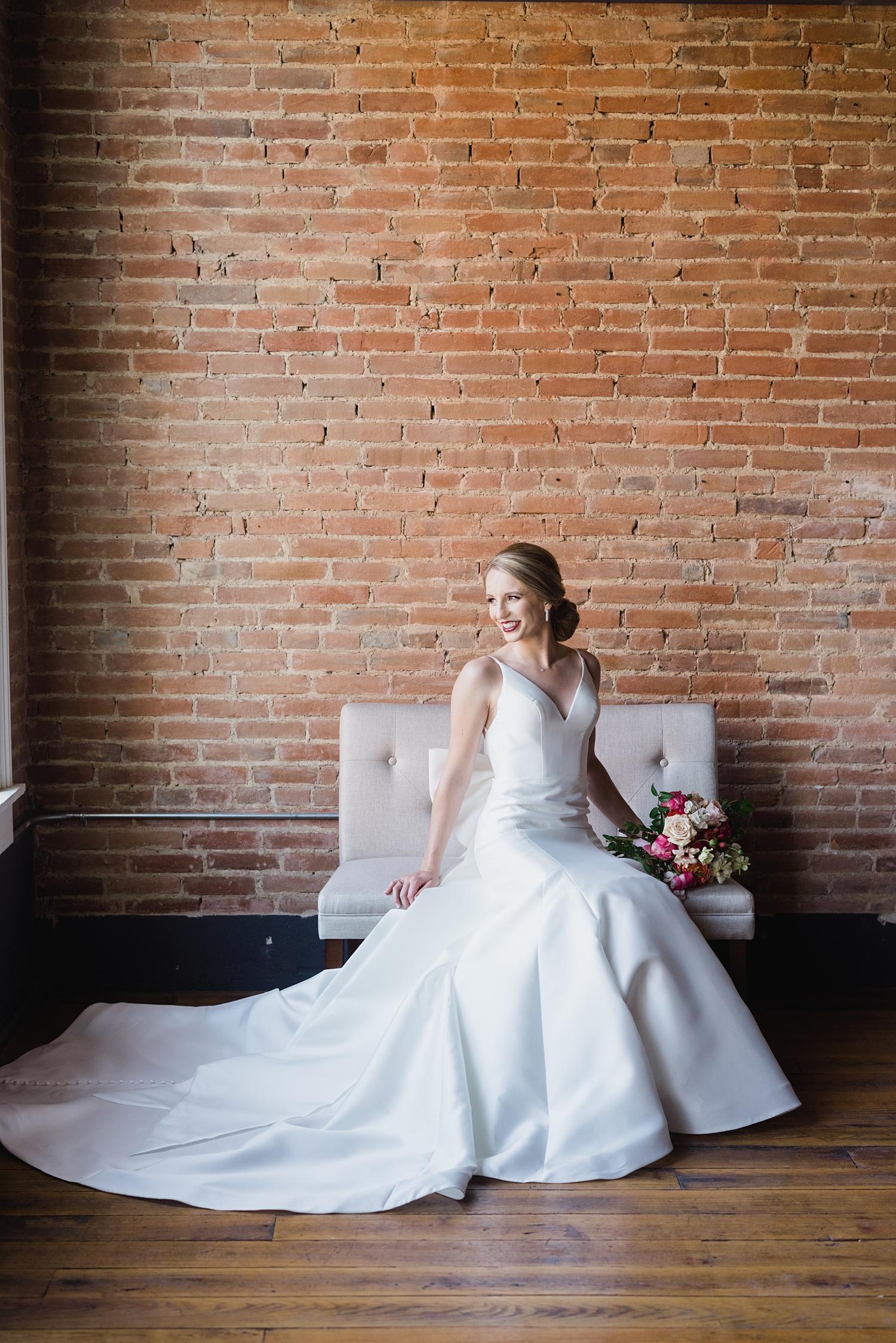 Tamory hall bridal session Pella