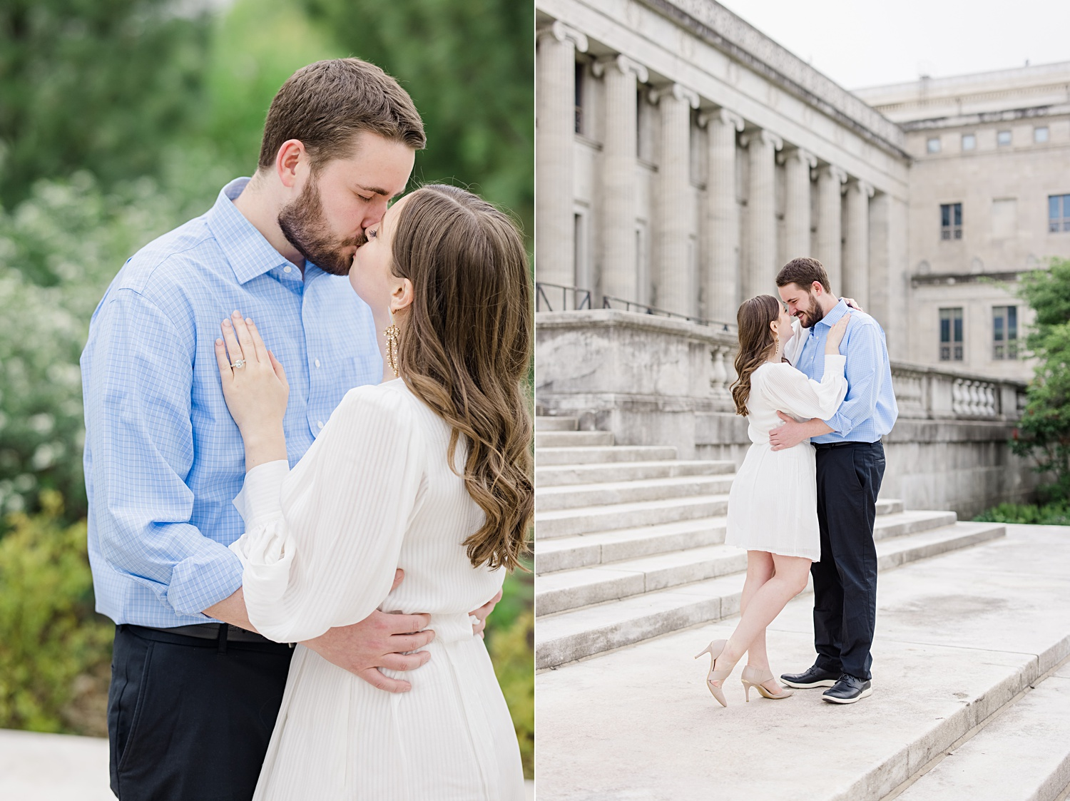 downtown chicago museum campus engagement photos