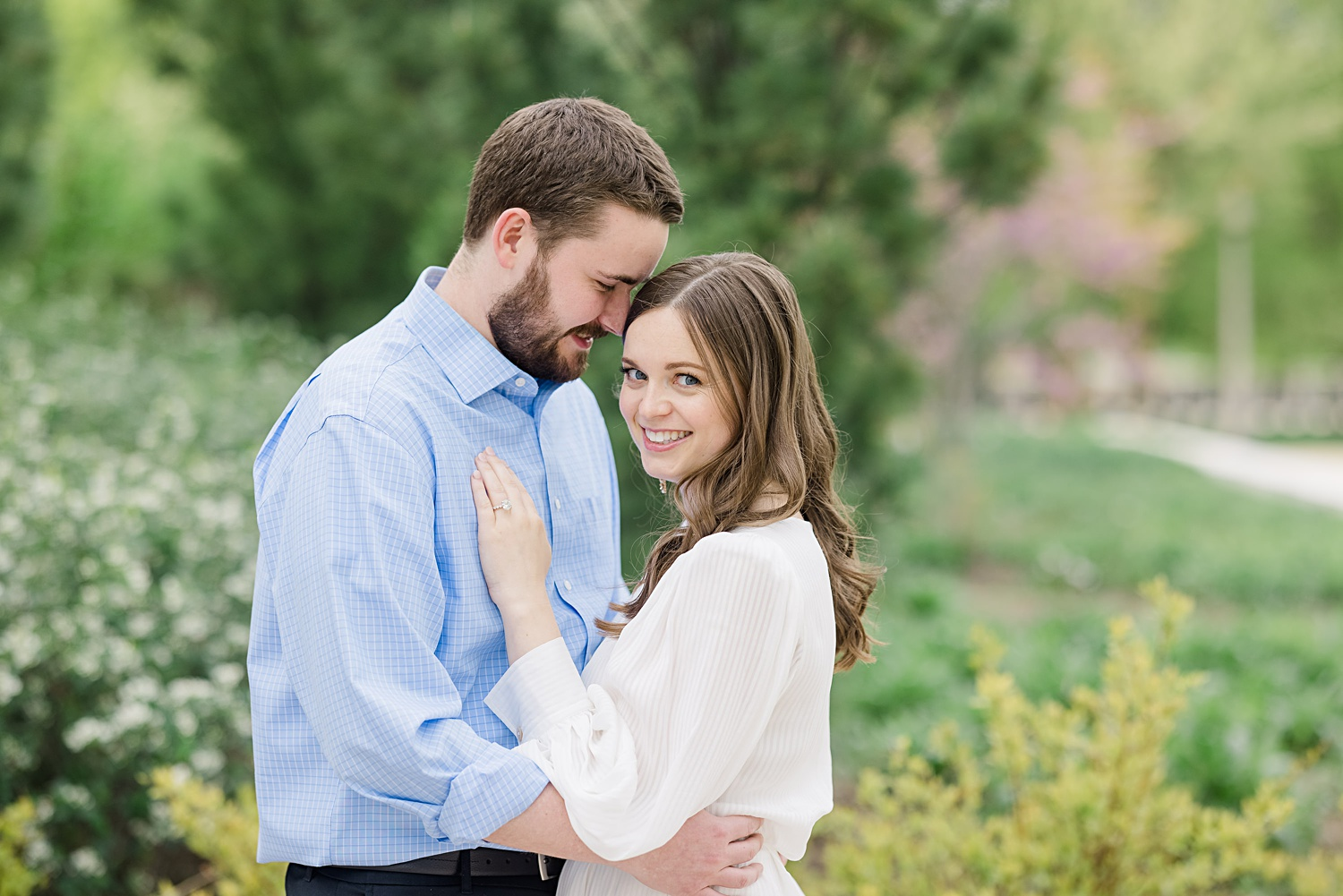 chicago field museum engagement session