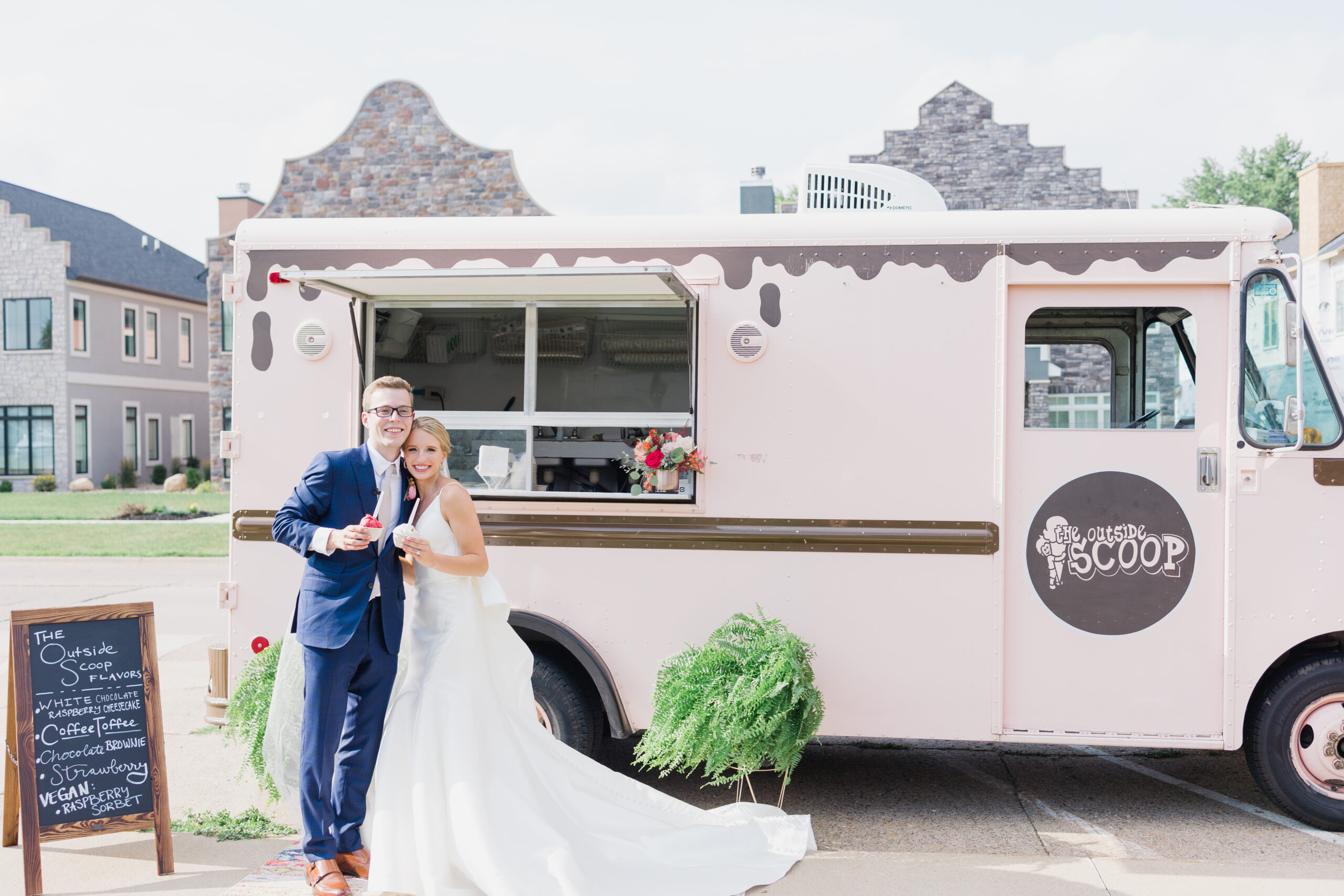 Sienna Caleb pella wedding