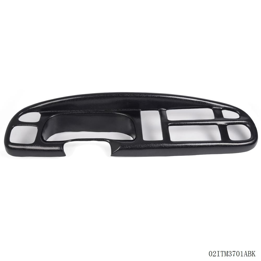 Plastic Black Dash Board Bezel Cover Cap For  Dodge Ram Pickup Truck 98-01