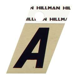 The Hillman Group 840544 1-1//2-Inch Aluminum Angle-Cut Letter Z