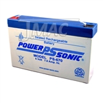 PS-670F1 PowerSonic | JMAC Supply