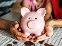 Cost-effectiveness of therapist-guided internet-based cognitive behavioral therapy for stress-related disorders. Source: Pexels; Copyright: rawpixels.com; URL: https://www.pexels.com/photo/person-holding-pink-piggy-coin-bank-1246954/; License: Licensed by the authors.