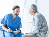 Source: freepik; Copyright: freepik; URL: https://www.freepik.com/free-photo/cheerful-doctor-talking-with-elderly-patient_3038037.htm#page=2&query=doctor+and+patient&position=39; License: Licensed by JMIR.