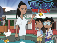 """Cover of the Cartoon """"The Magic Glasses Philippines"""". Source: Image created by the Authors; Copyright: The Authors; URL: http://www.researchprotocols.org/2020/6/e18419/; License: Creative Commons Attribution + ShareAlike (CC-BY-SA)."""