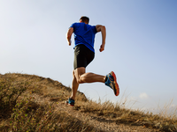 Source: Shutterstock; Copyright: sportpoint; URL: https://www.shutterstock.com/image-photo/running-autumn-trail-on-male-athlete-1151061857; License: Licensed by the authors.