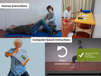 Human versus computer-based instructions for exercise. Source: The Authors; Copyright: The Authors; URL: http://www.jmir.org/2020/9/e18233/; License: Creative Commons Attribution (CC-BY).