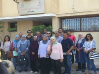 GHD/EMPHNET field visit to the Red Sea governorate for the Polio Legacy Project 2018 follow-up. Source: Image created by the Authors; Copyright: The Authors; URL: https://publichealth.jmir.org/2019/4/e14664; License: Creative Commons Attribution (CC-BY).