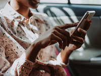 Source: Pexels; Copyright: Rawpixel; URL: https://www.pexels.com/photo/photo-of-woman-holding-smartphone-1842623/; License: Licensed by JMIR.