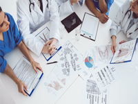Source: Shutterstock; Copyright: George Rudy; URL: https://www.shutterstock.com/image-photo/cropped-image-successful-medical-doctors-discussing-582901018; License: Licensed by the authors.