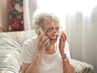 Source: Freepik; Copyright: wirestock; URL: https://www.freepik.com/free-photo/elderly-woman-sitting-call-with-worried-look-her-face_10400895.htm; License: Licensed by JMIR.