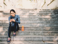 Source: iStock by Getty Images; Copyright: filadendron; URL: https://www.istockphoto.com/photo/young-woman-resting-after-jogging-in-the-park-gm532190270-94162485?clarity=false; License: Licensed by the authors.