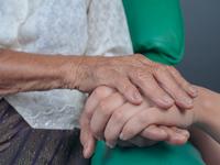 Source: freepik; Copyright: jcomp; URL: https://www.freepik.com/free-photo/young-woman-holding-elderly-woman-s-hand_4835331.htm#page=1&query=dementia&position=2; License: Licensed by JMIR.