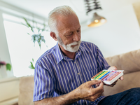 Source: iStock; Copyright: Jovanmandic; URL: https://www.istockphoto.com/ca/photo/senior-man-taking-pills-at-home-gm1067392936-285459458; License: Licensed by the authors.
