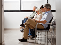 Source: Adobe Stock; Copyright: Tyler Olsen; URL: https://stock.adobe.com/ca/images/people-waiting-for-doctor-in-hospital-lobby/48334363?prev_url=detail; License: Licensed by JMIR.
