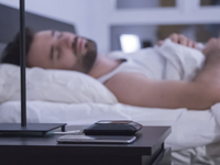 Source: Indiegogo; Copyright: Toi Ngee Tan; URL: https://www.indiegogo.com/projects/juvo-track-manage-sleep-from-under-your-bed#/; License: Licensed by the authors.