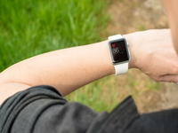 Source: FreeDigitalPhotos; Copyright: franky242; URL: http://www.freedigitalphotos.net/images/woman-checking-her-pulse-using-the-apple-watch-photo-p351891; License: Licensed by the authors.