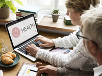 Telehealth. Source: Shutterstock; Copyright: Rawpixel.com; URL: https://www.shutterstock.com/image-photo/health-laptop-healthcare-wellness-senior-concept-520843072?src=PWWhn0v8eQxKmDlCUwGn2w-1-10; License: Licensed by the authors.