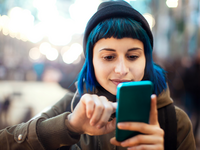 Source: iStock by Getty Images; Copyright: Marco_Piunti; URL: https://www.istockphoto.com/photo/girl-using-smartphone-gm638898084-114843769; License: Licensed by the authors.