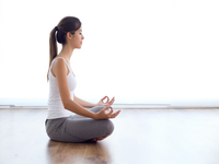 Source: freepik; Copyright: nensuria; URL: https://www.freepik.com/free-photo/beautiful-young-woman-doing-yoga-exercises-home_1152005.htm#page=1&query=meditation&position=49; License: Licensed by JMIR.
