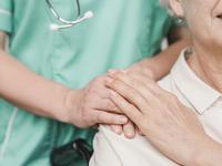 Source: Freepik; Copyright: freepik; URL: https://www.freepik.com/free-photo/senior-woman-patient-touching-female-nurse-hand-shoulder_2652909.htm; License: Licensed by JMIR.