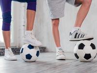 Source: freepik; Copyright: freepik; URL: https://www.freepik.com/free-photo/girl-boy-s-foot-soccer-ball_4807053.htm#page=8&query=child+sport&position=5; License: Licensed by JMIR.