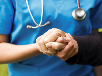 Trust in health care providers. Source: iStock by Getty Images; Copyright: Barabasa; URL: https://www.istockphoto.com/photo/giving-support-gm502997913-43978668; License: Licensed by the authors.