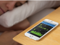 Source: EMFIT / Placeit; Copyright: EMFIT / Placeit; URL: https://placeit.net/c/mockups/stages/iphone-6-mockup-featuring-a-woman-sleeping-a3842; License: Licensed by JMIR.
