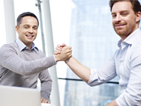 Source: Shutterstock Inc; Copyright: imtmphoto; URL: https://www.shutterstock.com/image-photo/two-caucasian-businesspeople-celebrating-success-partnership-366999257?irgwc=1&utm_medium=Affiliate&utm_campaign=TinEye&utm_source=77643&utm_term=; License: Licensed by the authors.